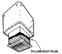 Pillow Duct Plug