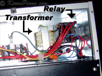 Transformer & Fan Relay for Electric Forsaire Heaters